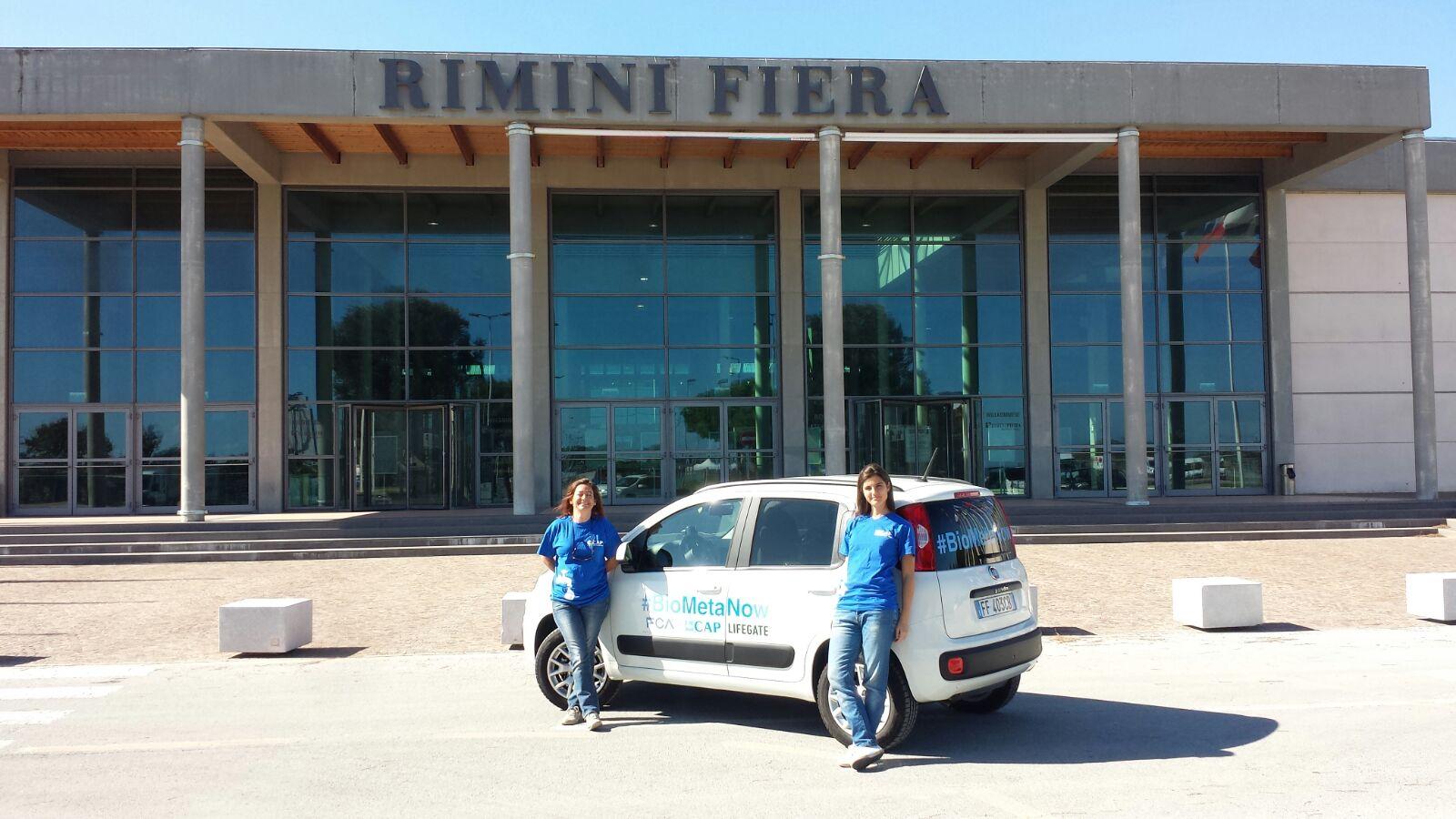 Panda a biometano a Rimini fiera
