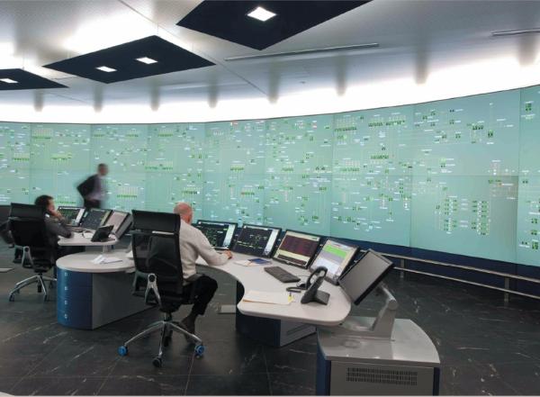 Sala controllo gas nazionale